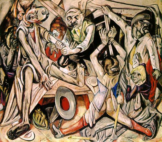 Max Beckmann, 'The Night'