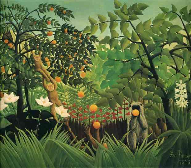 Henri Rousseau, 'Exotic Landscape'