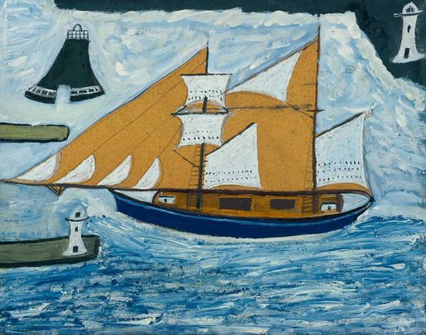 Alfred Wallis, 'The Blue Ship'