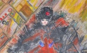 Claudia Benassai, 'Peeping Tom'
