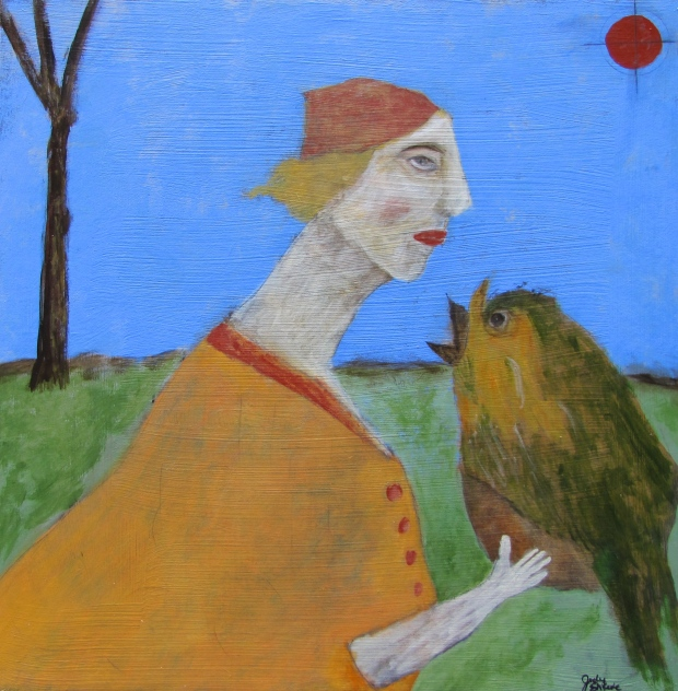 the-bird-listener-24x24-judy-shreve