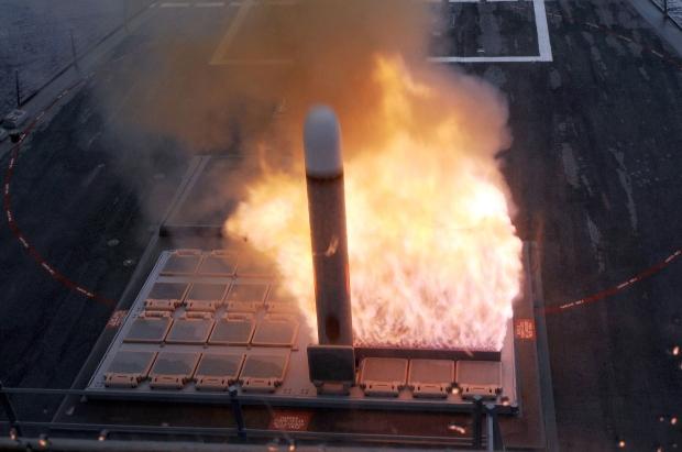 Figure 13 - missile firing