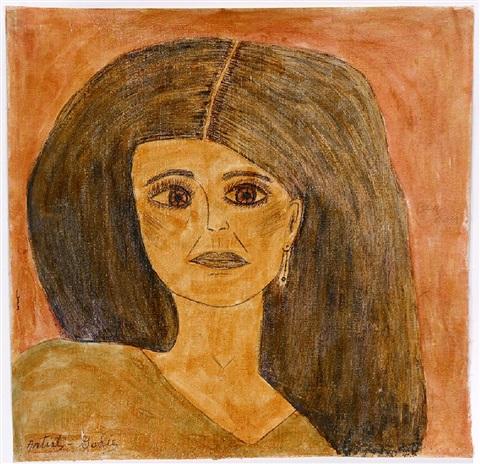 lee-godie-black-haired-woman